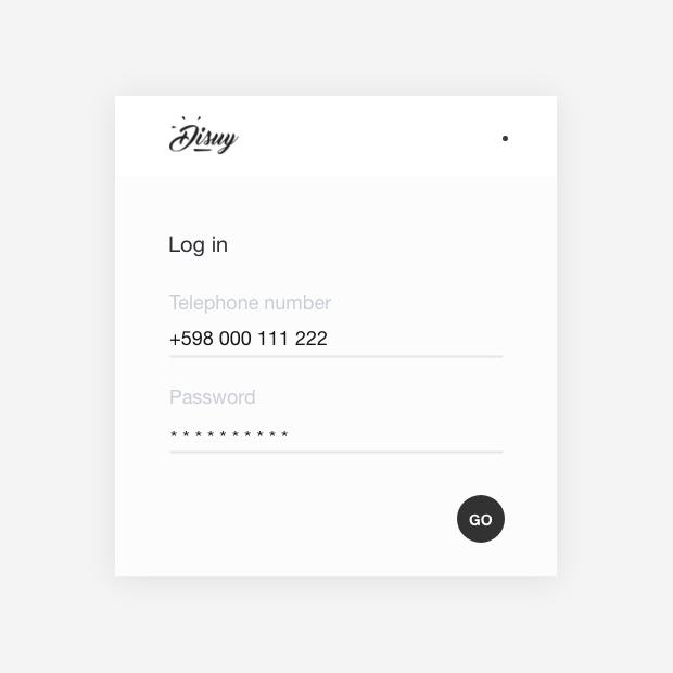 login redesign